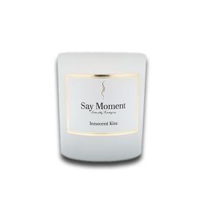 Innocent Kiss, Bougies parfumées, Fabriqué à la main - Say Moment 220g