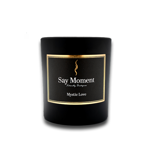 Mystic Love, Bougies parfumées, Fabriqué à la main - Say Moment 220g