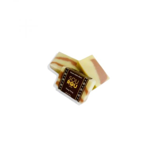 Savon extra doux bio au beurre de karité, Ylang-Ylang
