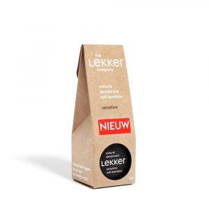 The Lekker Company | Déodorant peaux senibles au bambou | 30 ml