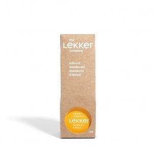 The Lekker Company | Déodorant Mandarine Citron | 30 ml